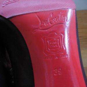 Christian Louboutin Shoes - $695~CHRISTIAN LOUBOUTIN~Brown Simple Pumps~8/8.5